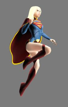 the new supergirl by Kevinusprime