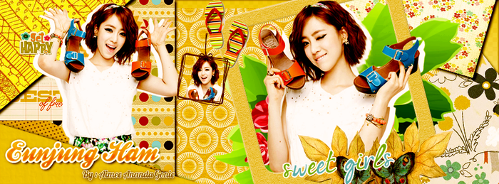 [PSD-Pack] Cover Photo - Eunjung Ham by AimeeAnanda0615