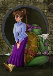 Donatello and Irma : A crush on you by Mami02
