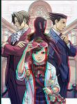 Ace Attorney 3D anaglyph 2 by xmancyclops