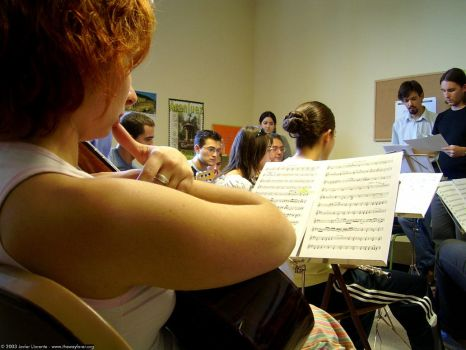 A Pause in the Rehearsals by wayfarer