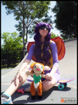 Spyro and Elora Down at the Skatepark (Cosplay) by KrazyKari