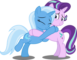 Vector #685 - Besties Forever by DashieSparkle