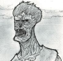 Zombie Steve by Metal-Truncator