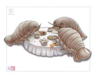 Isopod Tea Party by KaceyM