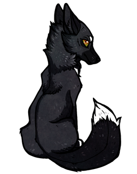 Chibi Commission- the-MadDog by Canis-Infernalis