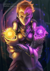 Moira - Overwatch by CAROTdrawsthings