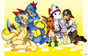 pokemon Heart Gold team