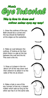 Basic anime eye tutorial by The-Max-Factor