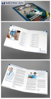 Magazine style brochure by freestyler-87