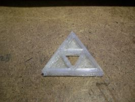 3D-printing a Triforce by Tassadoul