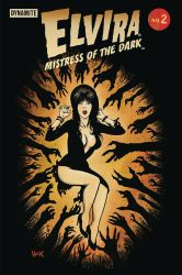 Elvira: Mistress of the Dark #2 by RobertHack