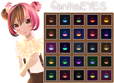 [MMD] fantisEYES whimsy + DL by HiLoMMD