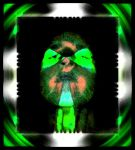 green abstract dimension by halloweenkid