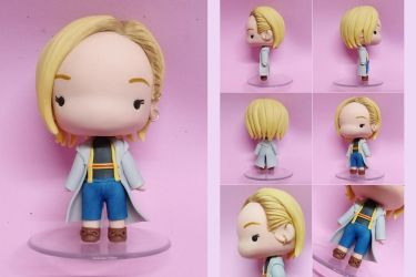13th Doctor (Doctor Who) Custom Figure by bellakenobi