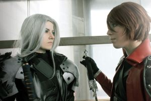 Sephiroth Genesis 'Forgive us now' by Hirako-f-w