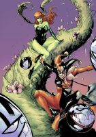 Harley and Ivy coloured by RSB13