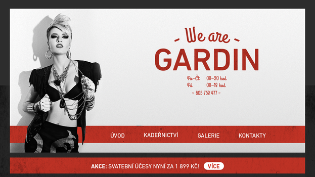 Gardin - Web design by KevinWScherrer