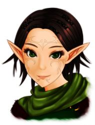 Dragon Age 2 - Merrill by iforher