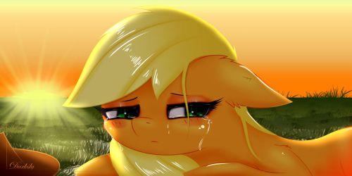 Don't cry... by Darksly-z
