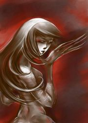 Red Lady by albyon