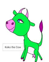 Koko the teenager cow by thecrazycowgirl66
