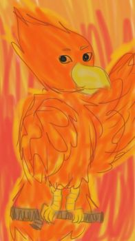 I guess my spirit animal would be a Phoenix by enderluv