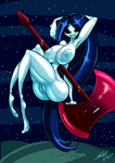 Patreon Pin-Up - Marceline the Vampire Queen by grayscalerain