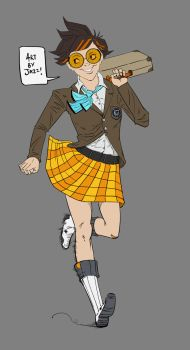 High-school Tracer by jazreet911