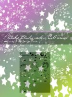 Little cute stars Photoshop brushes by Coby17