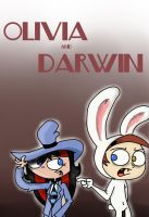 Olivia and Darwin by Taon-the-Chosen