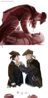 Assassin's Creed 3 - Connor x Haytham by maXKennedy