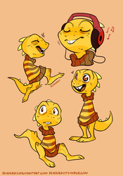 Monster Kid Undertale by SeaGerdy