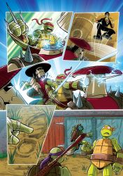 TMNT The Duel 5 by lee-sweeney