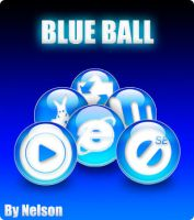 Blue Ball pack icons by Nelson-Tux