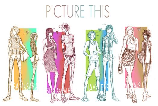 Picture This: the couples by Dyemelikeasunset