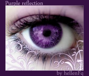 Purple Reflection by hellenFq