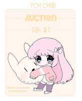 [CLOSED TY] YCH Plushie Chibi Auction by TakyHime