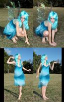 Blue Faery Pack3 by faestock