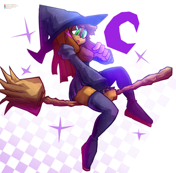 Witch Alexandra by Pedrovin