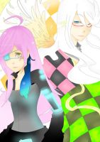 Checkmate Helsa and Delila by LadyCheck