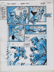 IDW TMNT Book Two Pg 2 by Kevineastman