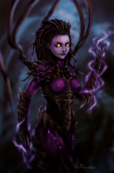 Queen of Blades - Kerrigan (with video) by hara-reita