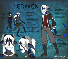 Craven humanoid ref by Zhoid