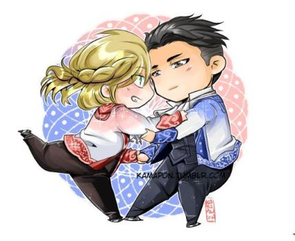 Pair Skating by kamapon