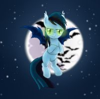 [Request] Zephyr: The Bat Pony by NomadicStardust