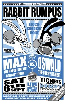 MAX vs OSWALD Bout poster