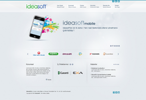 Ideasoft - Corporate Web Site by interfacedesigner