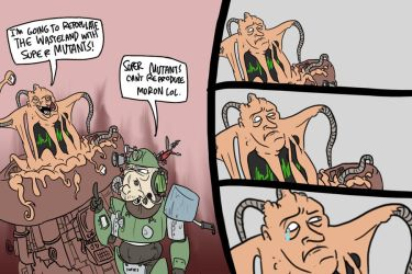 Fallout by JazzlasterBoris