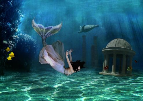 mermaid by nadinedavid